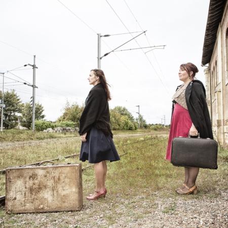 A l'horizon les rails se touchent - Compagnie Zèbrophone - Annabelle Avril Photographie #0