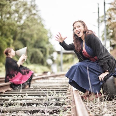 A l'horizon les rails se touchent - Compagnie Zèbrophone - Annabelle Avril Photographie #6