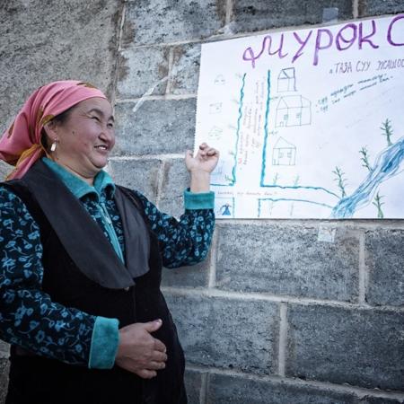 L'histoire d'eau d'An Oston - Kirghizstan - WECF - Annabelle Avril Photographie #10