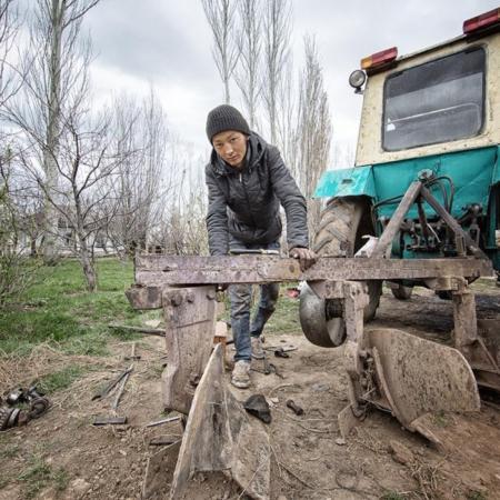 L'histoire d'eau d'An Oston - Kirghizstan - WECF - Annabelle Avril Photographie #2