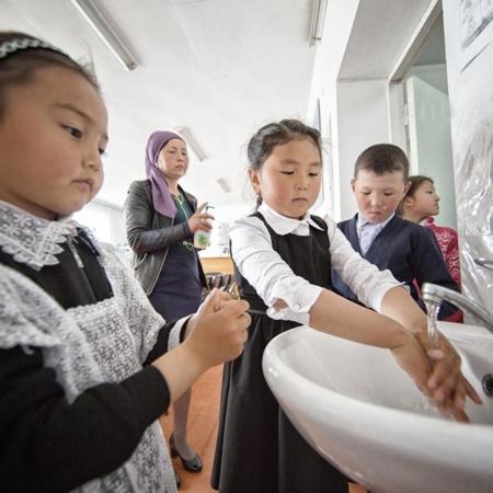 L'histoire d'eau d'An Oston - Kirghizstan - WECF - Annabelle Avril Photographie #29