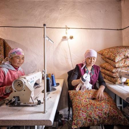 L'histoire d'eau d'An Oston - Kirghizstan - WECF - Annabelle Avril Photographie #37