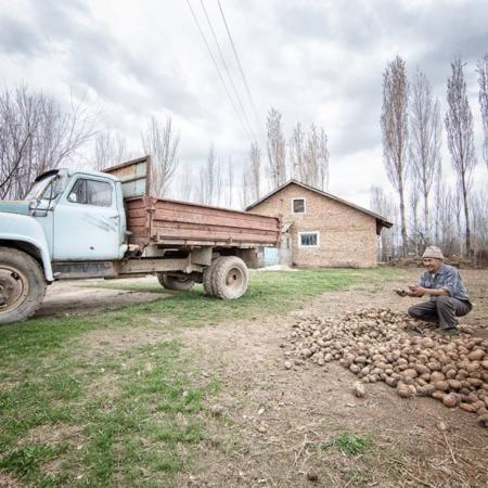 L'histoire d'eau d'An Oston - Kirghizstan - WECF - Annabelle Avril Photographie #5