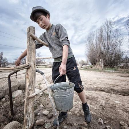 L'histoire d'eau d'An Oston - Kirghizstan - WECF - Annabelle Avril Photographie #6