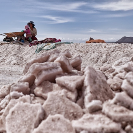 Salt Childhood - Salar de Coïpasa Bolivie - Annabelle Avril Photographie #6