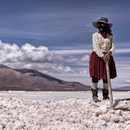 Salt Childhood - Salar de Coïpasa Bolivie - Annabelle Avril Photographie #9