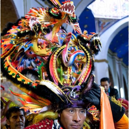 Virgen del Socavon - Oruro - Bolivie - Annabelle Avril Photographie #0