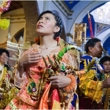 Virgen del Socavon - Oruro - Bolivie - Annabelle Avril Photographie #6